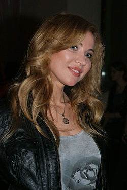 Lidia Kopania at the Warsaw Eurovision Party (2010).jpg