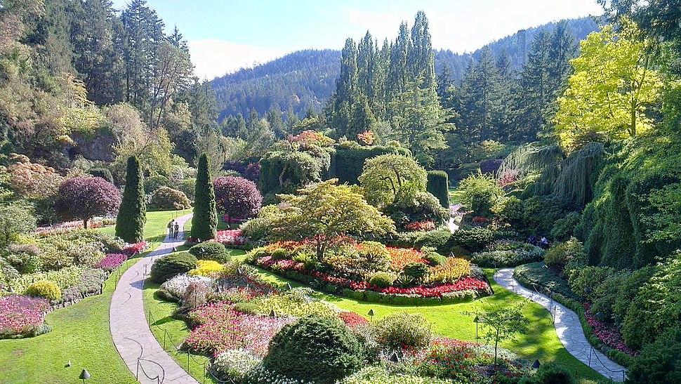 Lieu historique national du Canada des Jardins-Butchart 2012-09-15 18-27-50