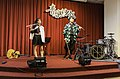 Lily, Boy and musical instruments on the stage 20210321.jpg