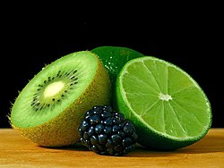 Limes kiwis berry berries.jpg