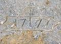 Linteau daté de 1777. Mondon.jpg