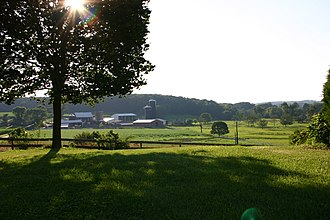 Lisbon, Maryland - Dairy farm near Lisbon