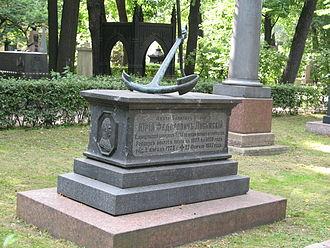 Yuri Lisyansky - Lisyansky's grave