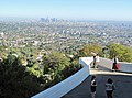 Little girl with telescope at Griffith Observatory.jpg