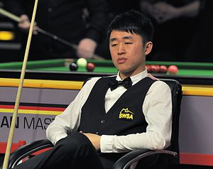 Liu Chuang (snooker player) - Liu Chuang at the 2014 German Masters