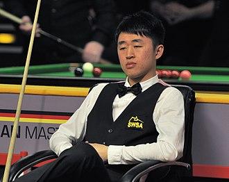 Liu Chuang (snooker player) - Liu Chuang at the 2014 German Masters