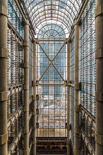 "Peter Rice - Lloyd's Building, Grade I listed and recognised as ""one of the key buildings of the modern epoch."""