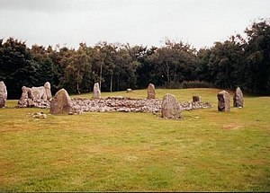 Daviot, Aberdeenshire - The prehistoric stone circle at Loanhead of Daviot