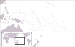 Macauley Island - Image: Location Macauley Island