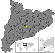 Location of Aguilar de Segarra.png