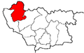 Location of Kovel County in Volhynian Governorate.png