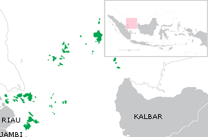 Natuna Sea -  The Natuna Sea surrounding the Riau Islands province