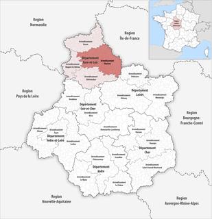 Arrondissement of Chartres Arrondissement in Centre-Val de Loire, France