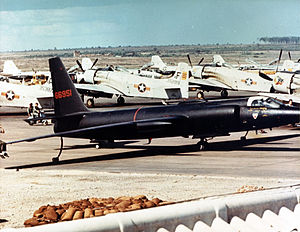 4080th Strategic Reconnaissance Wing - 4028 Strategic Reconnaissance Squadron Lockheed U-2 at Bien Hoa AB in 1965
