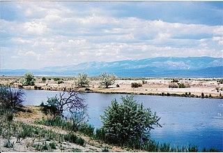 Raft River Mountains Mountain range in Utah, United States