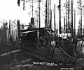 Loggers and donkey engine, National Lumber and Manufacturing Company, Callow, ca 1923 (KINSEY 1135).jpeg