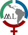Logo Mujeres Latinoamericanas en Wikimedia.png