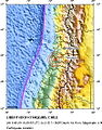 Lolol, Chile aftershock location map.jpg