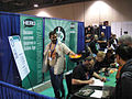 Long Beach Comic & Horror Con 2011 - comic creator signing at the Hero Initiative booth (6301169201).jpg