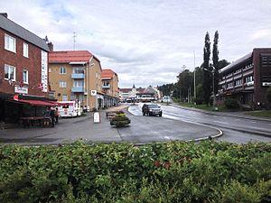 Vilhelmina - Vilhelmina's town center