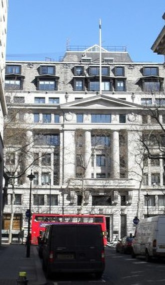 Agricultural & General Engineers - Headquarters The entrance to Aldwych House WC2 completed for AGE in 1926