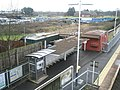 Looking over towards Palk Road from the footbridge at Bedhampton Railway Station - geograph.org.uk - 1079914.jpg