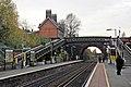 Looking west, Hunts Cross railway station (geograph 3787214).jpg