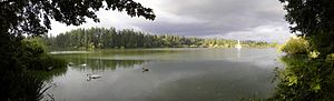 Lost Lagoon - Panorama of Lost Lagoon