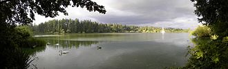 Lost Lagoon - Panorama of Lost Lagoon