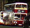 Lothian Buses bus Leyland Olympian Alexander RH Madder and White livery 13 August 2007 route 33.jpg