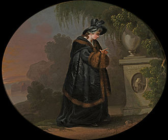 The Sorrows of Young Werther - Charlotte at Werther's grave