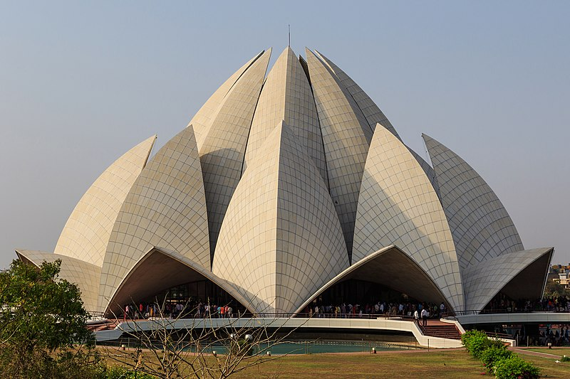 Fichier:Lotus Temple in New Delhi 03-2016.jpg