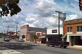 Louisa, Virginia - Main Street, Downtown Louisa