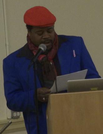 Greg Tate - Greg Tate reading at NYU in February 2013