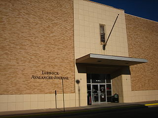 <i>Lubbock Avalanche-Journal</i> Newspaper in Lubbock, Texas