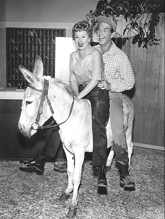 """The Lucy–Desi Comedy Hour - """"Lucy Hunts Uranium"""" with guest star Fred MacMurray (1958)"""