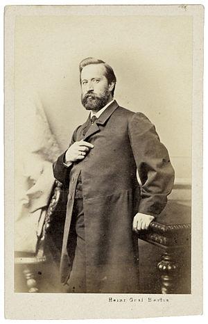 Ludwig Knaus - Ludwig Knaus, 1860s