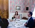 Lunch between Randa Kassis and Donald Trump Jr. CPFA, Paris October 11th 2016.jpg