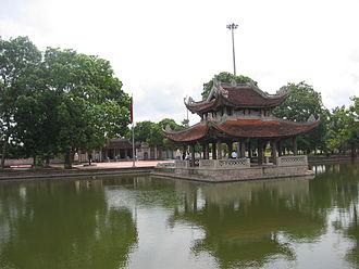 Lý Bát Đế Shrine - Five Dragon Gate and Water Pavilion
