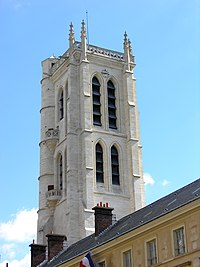 The Clovis bell tower of Lycée Henri-IV