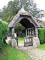 Lych gate, The Church of St Peter ad Vincula, Broad Hinton - geograph.org.uk - 1437202.jpg