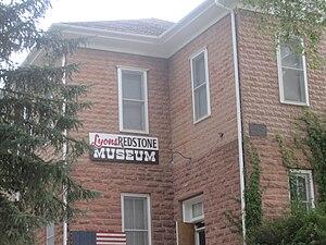 Lyons, Colorado - Lyons Redstone Museum