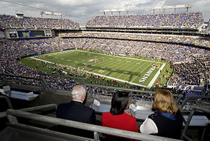 M&T Bank Stadium - Image: M&T Bank Stadium Do D