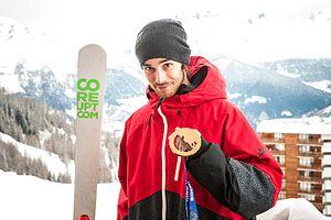 Kevin Rolland - Image: Médaille de Bronze pour Kevin Rolland à Sochi 2014