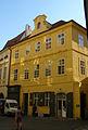 Měšťanský dům U Zlatého půlkola (Staré Město), Praha 1, Michalská 21, Staré Město.JPG