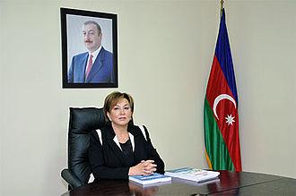 Maleyka Abbaszadeh - Image: Məleykə Abbaszadə