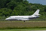 M-ABCD Dassault Falcon 2000 F2TH - ASP Aviation (18847375802).jpg