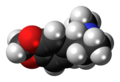 M-ALPHA molecule spacefill.png