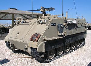 Infantry Corps (Israel) - M113 APC