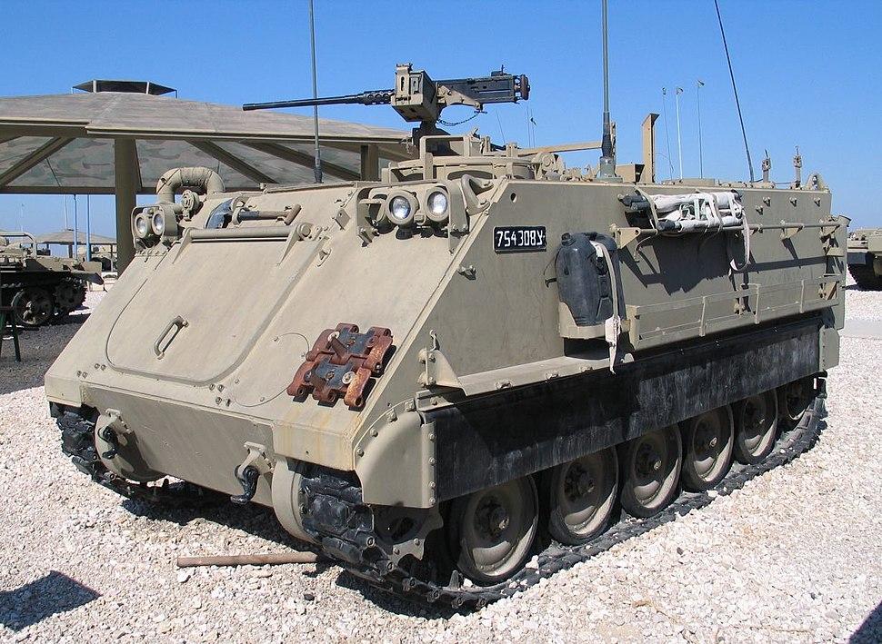 """נגמ""""ש M-113 בשירות צה""""ל"""